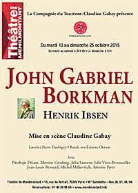 Affiche John‐Gabriel‐Borkman